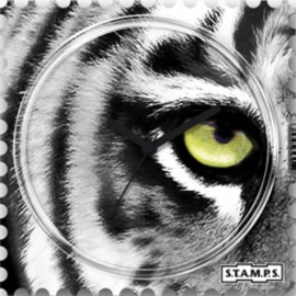 S.T.A.M.P.S. Cadran waterproof de montre eye of the tiger urban