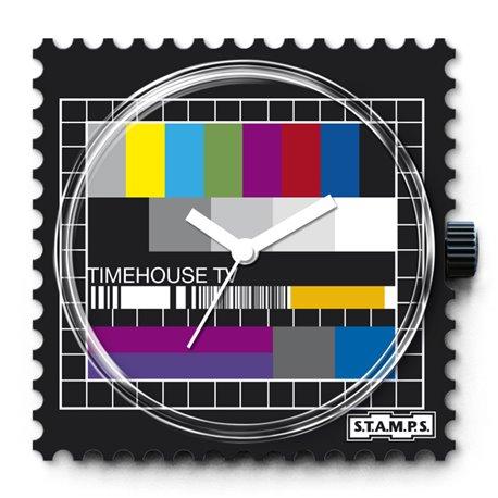 Montre Stamps cadran de montre test pattern