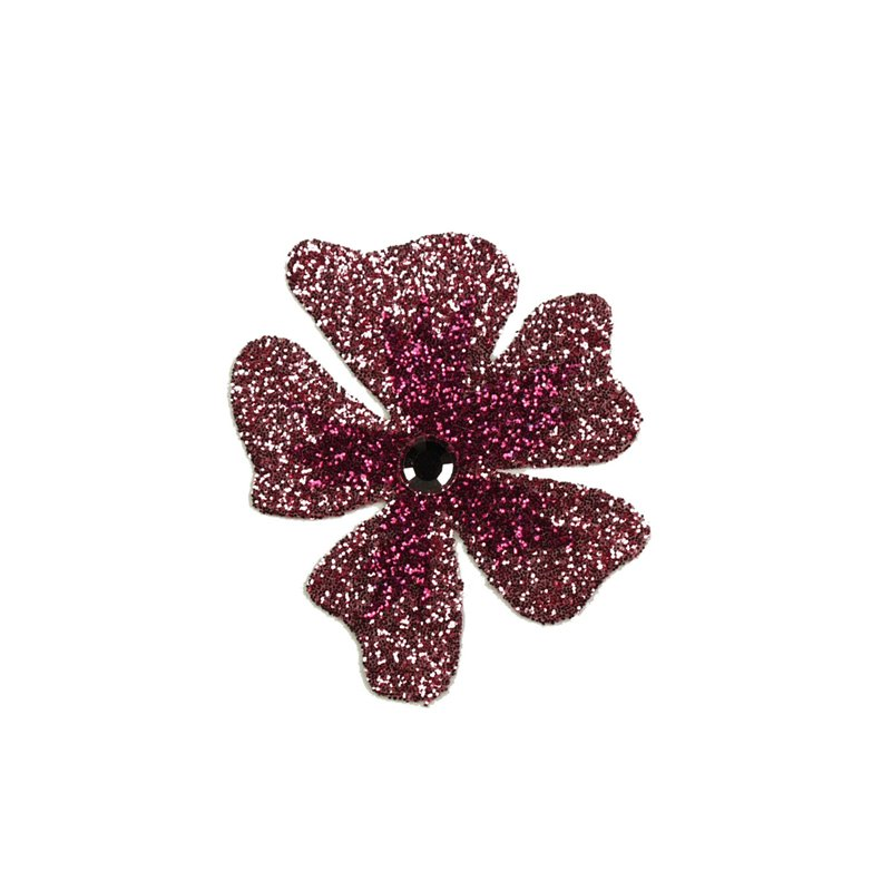 ... autocollant Swarovski strass et tatoo fleur burgundy. Bijou de peau  Karnyx venchy fleur dégradé burgundy et coral. Loading zoom 7897a7300c13