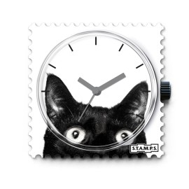 STAMPS Cadran de montre chat catwoman