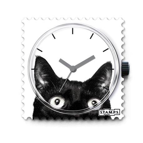 Montre Stamps cadran de montre catwoman