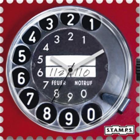 Montre Stamps cadran de montre call me
