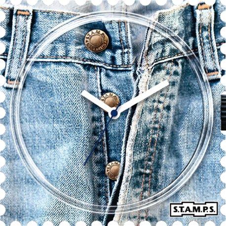 Montre Stamps cadran de montre open