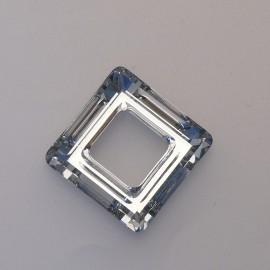 pendentif Swaro carré 2cm cristal