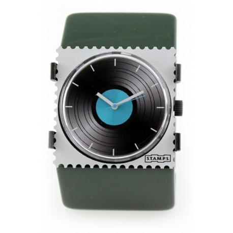 Montre Stamps bracelet de montre élastique belta vert