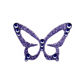 Bijou de peau Karnyx javany n1 papillon lilas