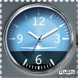 Montre Stamps cadran de montre aircraft urban