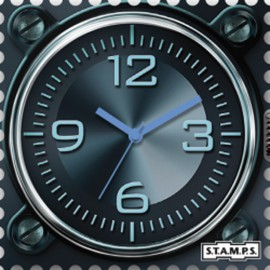 S.T.A.M.P.S. Cadran waterproof de montre aeronautic urban