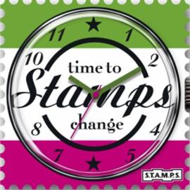 Montre Stamps cadran de montre time out urban