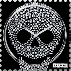 Montre Stamps cadran de montre diamond head