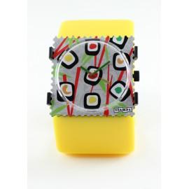 Bracelet élastique de montre Stamps belta jaune