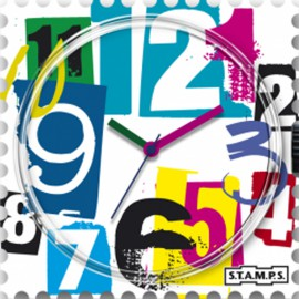 STAMPS Cadran de montre backmail watch