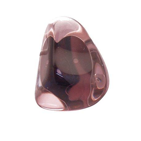 Boucles d'oreilles Sobral clips fantaisie lilas résine