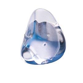 Boucles d'oreilles Sobral clips fantaisie bleu résine