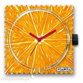STAMPS Cadran de montre orange 1511018