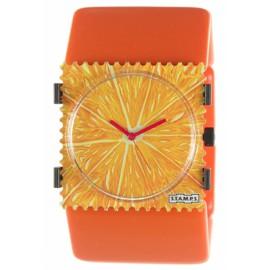 Bracelet élastique de montre Stamps belta orange