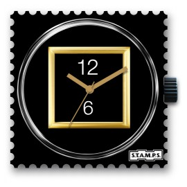Montre Stamps cadran de montre black dream