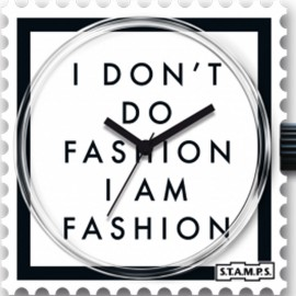 STAMPS Cadran de montre I am