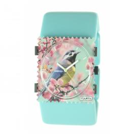 Bracelet élastique de montre Stamps belta bleu mat ice cream