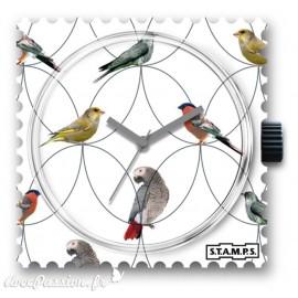 Cadran de montre Stamps spring birds - 1511026