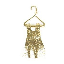 Broche Dolce Vita dorée robe