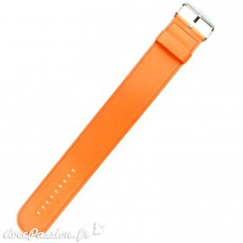 Bracelet de montre Stamps orange satin