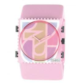 Bracelet élastique de montre Stamps belta ice cream rose