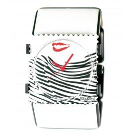 Bracelet élastique de montre Stamps belta blanc paris