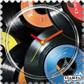 S.T.A.M.P.S. Cadran waterproof de montre vinyl