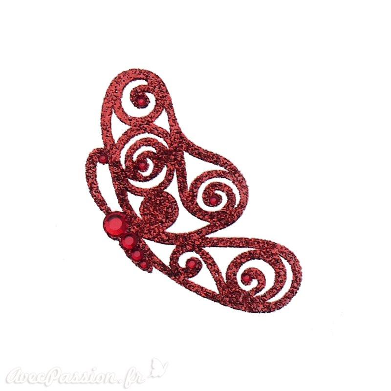 Bijou de peau autocollant Swarovski strass et tatoo papillon cherry 4eaebba0388e