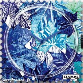 STAMPS Cadran de montre blue summer