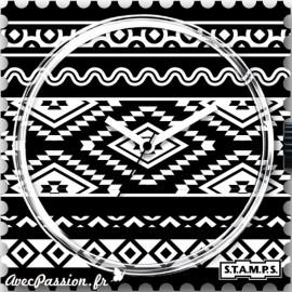 Cadran de montre Stamps ikat