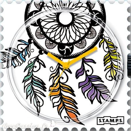 Montre Stamps cadran de montre dreamcatcher