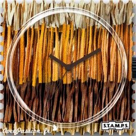 STAMPS Cadran de montre fringe over fringe