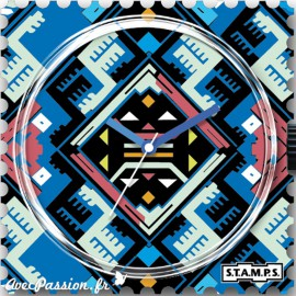 STAMPS Cadran de montre indiana