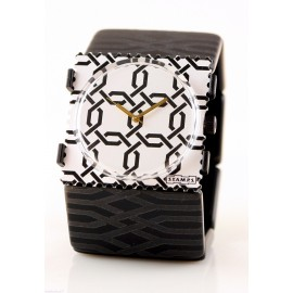 Bracelet élastique de montre Stamps lattice
