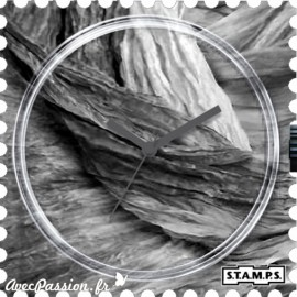 Montre Stamps cadran de montre scarf