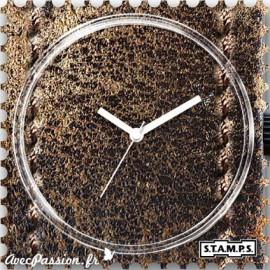 Montre Stamps cadran de montre cowboy