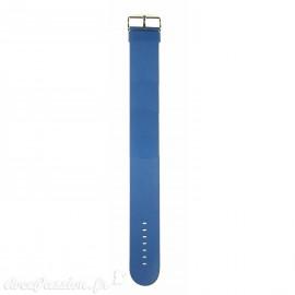 Montre Stamps bracelet de montre bleu Jack Rough blue