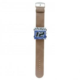 Bracelet de montre Stamps taupe Jack Rough Classic - 1521041