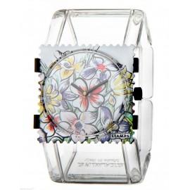 Bracelet élastique de montre Stamps belta transparent