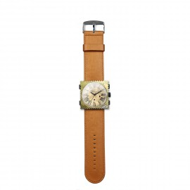 Bracelet de montre Stamps cuivré satin-