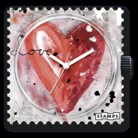 STAMPS Cadran de montre looking for love