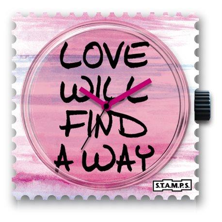 Cadran de montre Stamps way of love