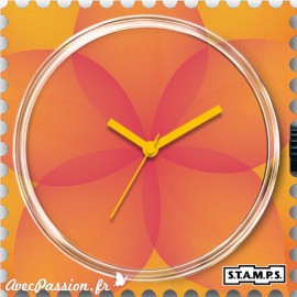 Cadran de montre Stamps sunny feelings