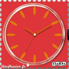 STAMPS Cadran de montre peach