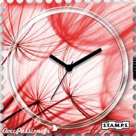 Cadran de montre Stamps peach blow