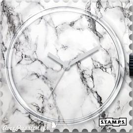Cadran de montre Stamps marble