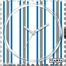 Cadran waterproof de montre Stamps white lines