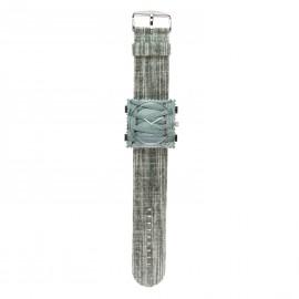 Bracelet de montre Stamps gris long Jack smart foggy
